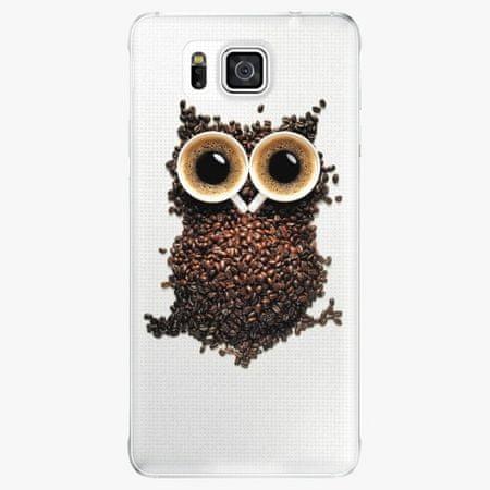 iSaprio Plastový kryt - Owl And Coffee - Samsung Galaxy Alpha
