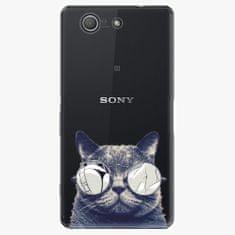 iSaprio Plastový kryt - Crazy Cat 01 - Sony Xperia Z3 Compact