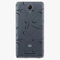 iSaprio Plastový kryt - Fancy - black - Xiaomi Redmi Note 2