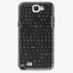 iSaprio Plastový kryt - Ampersand 01 - Samsung Galaxy Note 2