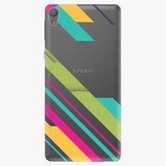 iSaprio Plastový kryt - Color Stripes 03 - Sony Xperia E5