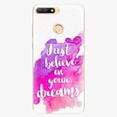 iSaprio Plastový kryt - Believe - Huawei Y6 Prime 2018