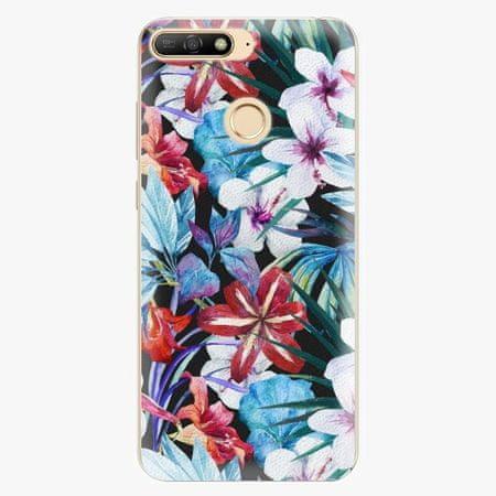 iSaprio Silikonové pouzdro - Tropical Flowers 05 - Huawei Y6 Prime 2018