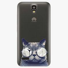 iSaprio Plastový kryt - Crazy Cat 01 - Huawei Ascend Y5