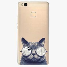iSaprio Plastový kryt - Crazy Cat 01 - Huawei Ascend P9 Lite