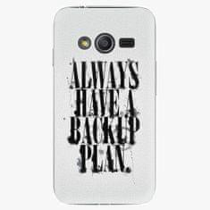 iSaprio Plastový kryt - Backup Plan - Samsung Galaxy Trend 2 Lite