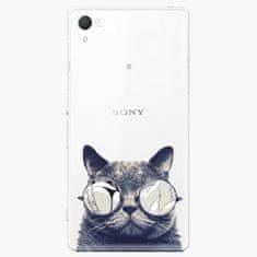 iSaprio Plastový kryt - Crazy Cat 01 - Sony Xperia Z2