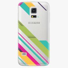 iSaprio Plastový kryt - Color Stripes 03 - Samsung Galaxy S5 Mini