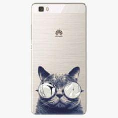 iSaprio Plastový kryt - Crazy Cat 01 - Huawei Ascend P8 Lite