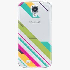 iSaprio Plastový kryt - Color Stripes 03 - Samsung Galaxy S4