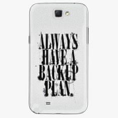 iSaprio Plastový kryt - Backup Plan - Samsung Galaxy Note 2