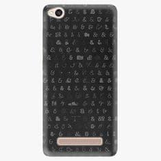 iSaprio Plastový kryt - Ampersand 01 - Xiaomi Redmi 4A