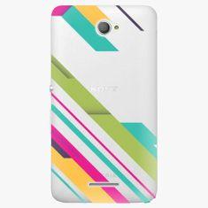 iSaprio Plastový kryt - Color Stripes 03 - Sony Xperia E4