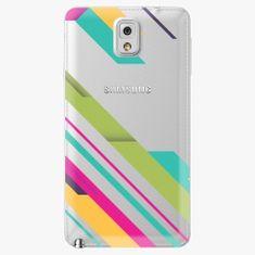 iSaprio Plastový kryt - Color Stripes 03 - Samsung Galaxy Note 3