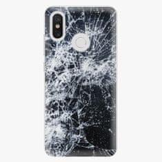 iSaprio Plastový kryt - Cracked - Xiaomi Mi 8