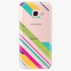 iSaprio Plastový kryt - Color Stripes 03 - Samsung Galaxy A3 2017