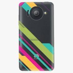 iSaprio Plastový kryt - Color Stripes 03 - Huawei Ascend Y300