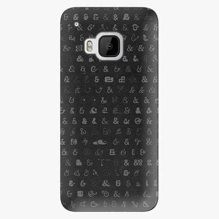 iSaprio Plastový kryt - Ampersand 01 - HTC One M9