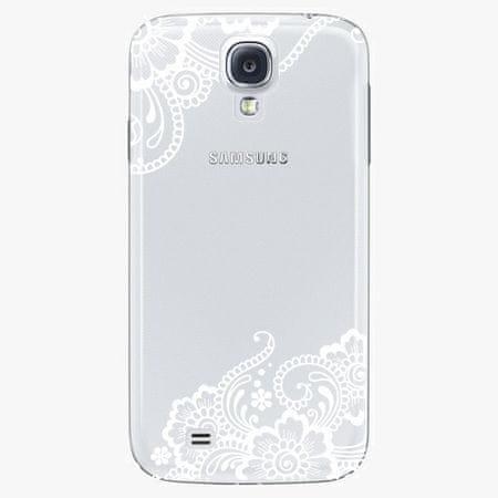 iSaprio Plastový kryt - White Lace 02 - Samsung Galaxy S4