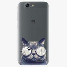 iSaprio Plastový kryt - Crazy Cat 01 - Huawei Ascend G7