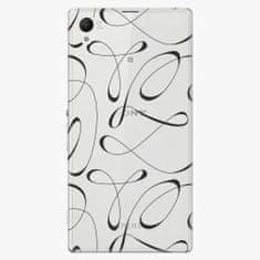iSaprio Plastový kryt - Fancy - black - Sony Xperia Z1