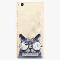 iSaprio Plastový kryt - Crazy Cat 01 - Xiaomi Redmi 3