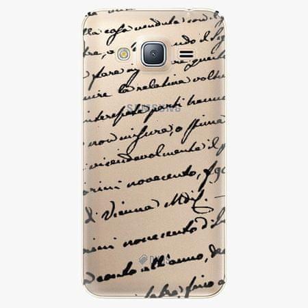 iSaprio Plastový kryt - Handwriting 01 - Samsung Galaxy J3