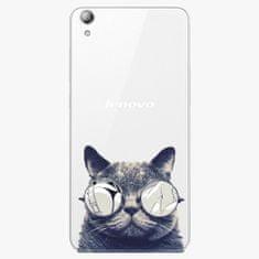 iSaprio Plastový kryt - Crazy Cat 01 - Lenovo S850