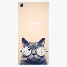 iSaprio Plastový kryt - Crazy Cat 01 - Lenovo Vibe X2