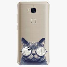 iSaprio Plastový kryt - Crazy Cat 01 - Huawei Honor 5X