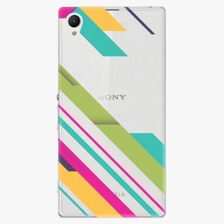 iSaprio Plastový kryt - Color Stripes 03 - Sony Xperia Z1