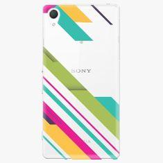 iSaprio Plastový kryt - Color Stripes 03 - Sony Xperia Z2
