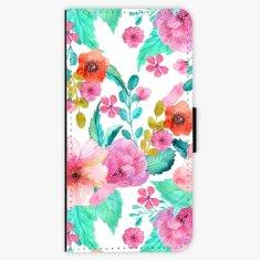 iSaprio Flipové pouzdro - Flower Pattern 01 - Samsung Galaxy A8 Plus