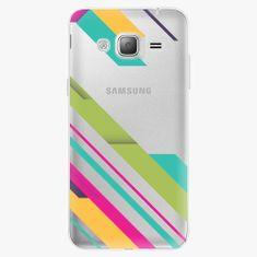 iSaprio Plastový kryt - Color Stripes 03 - Samsung Galaxy J3 2016