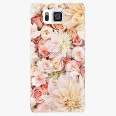 iSaprio Plastový kryt - Flower Pattern 06 - Samsung Galaxy Alpha