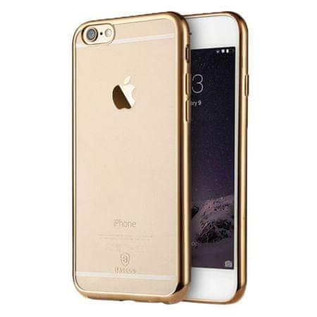 iSaprio Pružný kryt Baseus Shining pro iPhone 6 / 6S zlatý