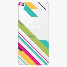 iSaprio Plastový kryt - Color Stripes 03 - Lenovo S850