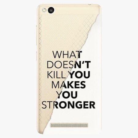 iSaprio Plastový kryt - Makes You Stronger - Xiaomi Redmi 3