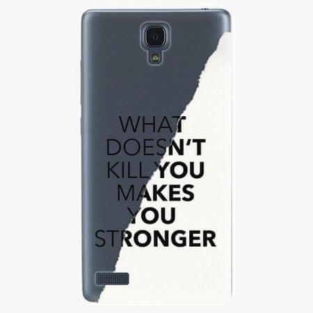 iSaprio Plastový kryt - Makes You Stronger - Xiaomi Redmi Note