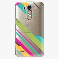 iSaprio Plastový kryt - Color Stripes 03 - LG G3 (D855)