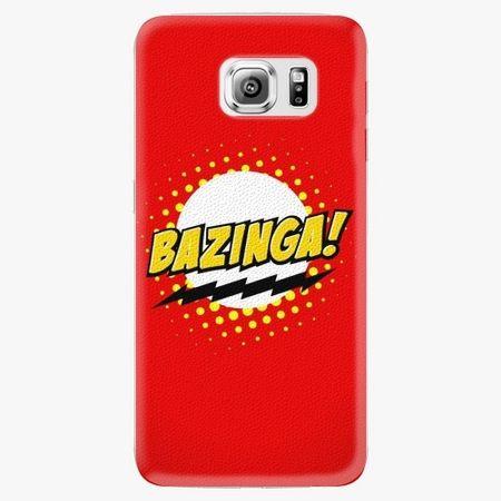 iSaprio Plastový kryt - Bazinga 01 - Samsung Galaxy S6 Edge Plus