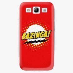 iSaprio Plastový kryt - Bazinga 01 - Samsung Galaxy S3