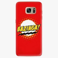 iSaprio Plastový kryt - Bazinga 01 - Samsung Galaxy S7 Edge