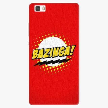 iSaprio Silikonové pouzdro - Bazinga 01 - Huawei Ascend P8 Lite