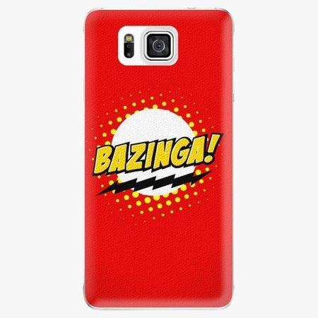 iSaprio Plastový kryt - Bazinga 01 - Samsung Galaxy Alpha