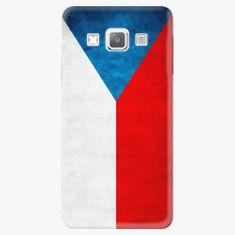 iSaprio Plastový kryt - Czech Flag - Samsung Galaxy A7
