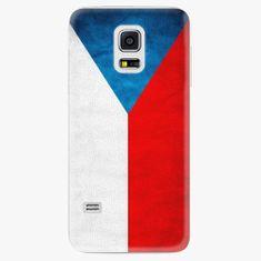 iSaprio Plastový kryt - Czech Flag - Samsung Galaxy S5 Mini