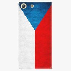 iSaprio Plastový kryt - Czech Flag - Sony Xperia M5