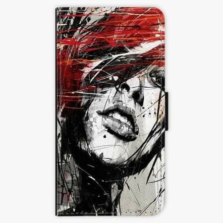 iSaprio Flipové pouzdro - Sketch Face - Samsung Galaxy A8 Plus