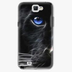 iSaprio Plastový kryt - Black Puma - Samsung Galaxy Note 2